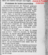 Journal de Paimpol, 21 juin 1930 (collection La Presse d'Armor)