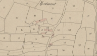 Plan cadastral 1837, section D1 (AD Morbihan, 3P 177)