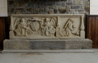 Autel secondaire : bas-relief