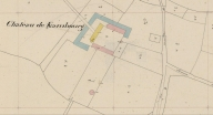 Plan cadastral 1840, section D2 (AD Morbihan, 3P 134)