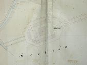 Plan parcellaire de 1844, section K, 2e feuille. AD Morbihan 3P593.