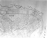 Plan cadastral 1809. Section I3 : intra-muros, partie nord-est. AM Vannes 21Fi.