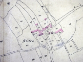 Plan cadastral 1829, section (AM Pluméliau)