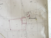 Plan cadastral 1845, section O.