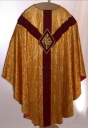 Ornement doré 2 : chasuble, étole
